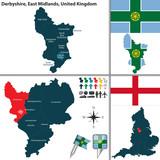 Derbyshire, East Midlands, UK poster