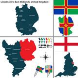 Lincolnshire, East Midlands, UK poster