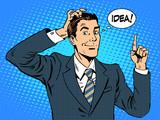 Fototapety Creative business people businessman idea