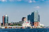 Gebäude am Hamburger Hafen - 90524142