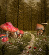 Enchanted nature series - Forest enchanted pathway