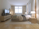 Fototapety Contemporary bedroom design