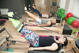 Fototapety Pilates exercises