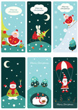 Christmas cute banners