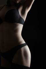 Nude woman sexy body erotic