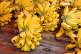 Dainty bananas or Pisang Mas poster