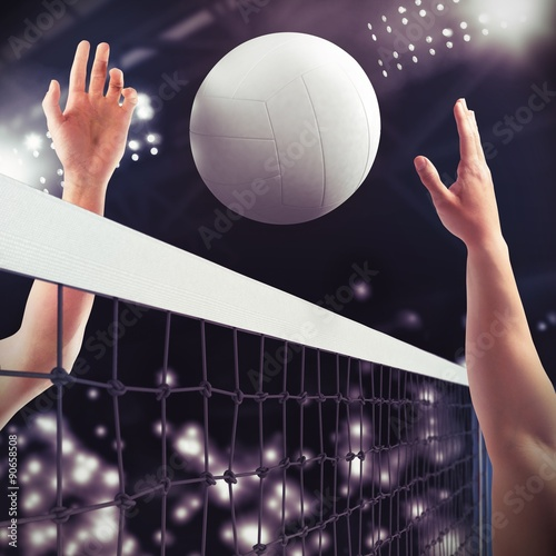 Poster Match de volley-ball