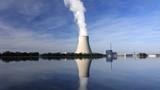 Nuclear power plant Ohu near Landshut, Bavaria, Germany - 90683906