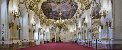 obraz lub plakat Schloss Schönbrunn Wien Innen grosse Galerie