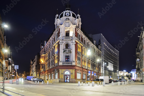 Fototapety, obrazy : The main square in the city center of Katowice