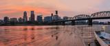 Sunset in Portland Oregon - 90709949