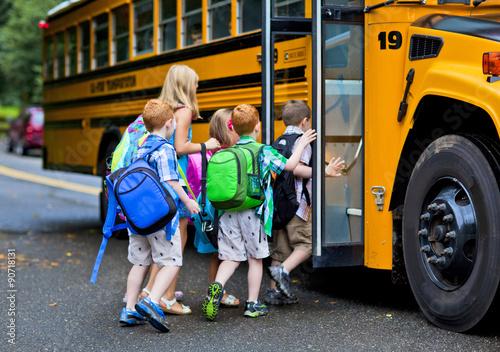 Poster Schoolbus