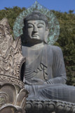Statue of Buddha in Seoraksan National Park poster