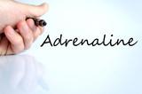 Adrenaline text concept poster
