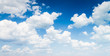 Quadro blue sky with cloud closeup