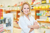 female pharmacutical chemist portrait