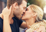 Fototapety Young couple deeply in love