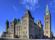 The Center block of the Parliament Buildings, Ottawa, Canada