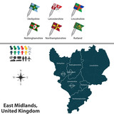 East Midlands, United Kingdom poster