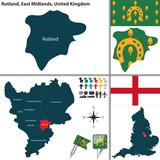 Rutland, East Midlands, UK poster