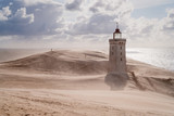 Sandstorm at the lighthouse