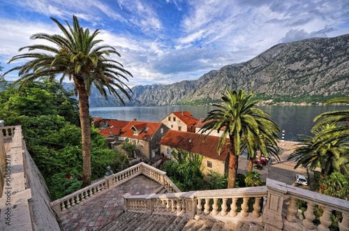 Fototapeta Picturesque Kotor Bay, Montenegro