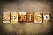 Mexico Concept Letterpress Leather Theme