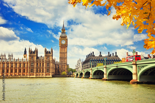 Big Ben in London Poster