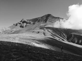 Face sud de l'Aiguille du Goléon, Aples © Dean Moriarty