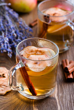 Apple tea with spices