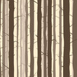 Seamless background with many tree trunks.