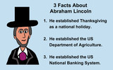 Education image showing a likeness of Abraham Lincoln and