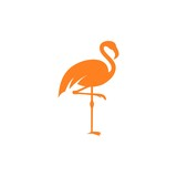 Flamingo Logo Template
