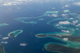 Fototapety Solomon Islands Aerial View