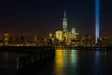 Fototapety Modern New York night skyline, including the Freedom Tower