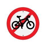 Prohibition Sign . Vector illustrations