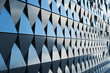 triangular shaped wall design texture