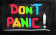 Don't Panic Concept