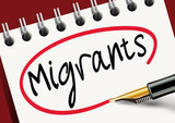 BLOC Migrants poster