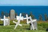 Hellnar cemetery, Snaefellsnes peninsula, Iceland poster