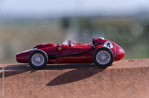 Foto op Plexiglas F1 Model of a classic Formula one car