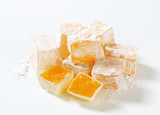 Mastic-flavored jelly cubes (Greek Turkish delight) poster