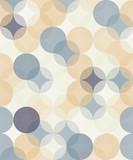 Vector nowoczesnych bezszwowych kolorowych geometrii wzór okręgi, kolor streszczenie geometryczne tło, druk tapety, retro tekstury, hipster projektowanie mody,