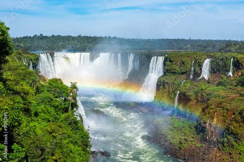 fototapeta na ścianę Iguazu Falls in Foz do Iguacu, Brazil