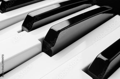 Poster Piano Keys