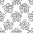 Abstract mandala seamless pattern