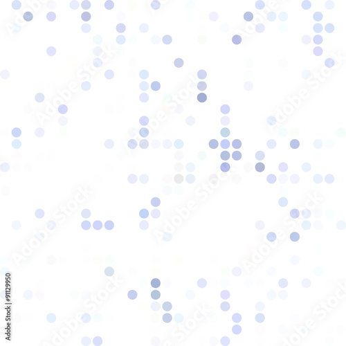 Staande foto Abstract wave Blue Random Dots Background, Creative Design Templates
