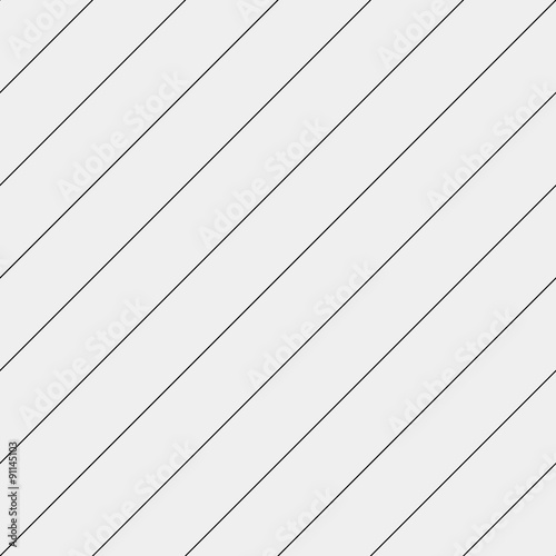 Vector seamless pattern. Modern stylish texture. Repeating geometric tiles with diagonal lines - stock vector - 91145103