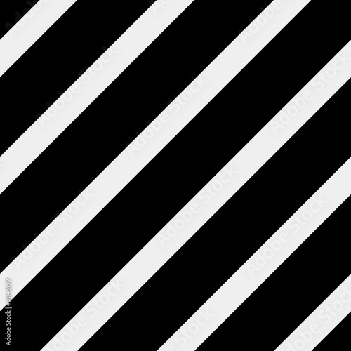 Vector seamless pattern. Modern stylish texture. Repeating geometric tiles with diagonal lines - stock vector - 91145197