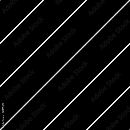 Vector seamless pattern. Modern stylish texture. Repeating geometric tiles with diagonal lines - stock vector - 91145328